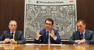 Da sinistra: Dario Vianello, Francesco Rucco e Matteo Tosetto
