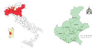 La diffusione del virus West Nile in Italia ed in Veneto