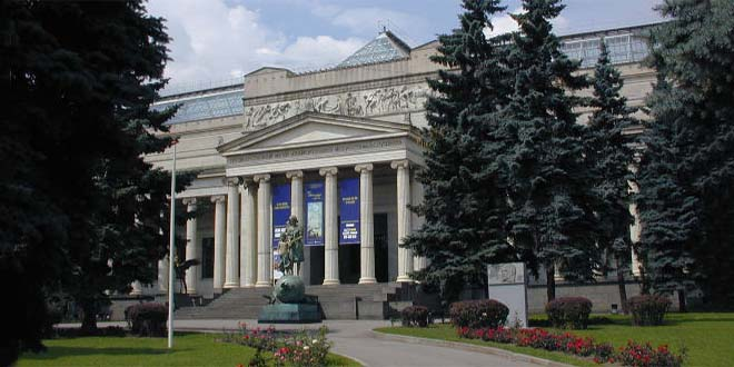 Rucco e Conte al museo Pushkin di Mosca