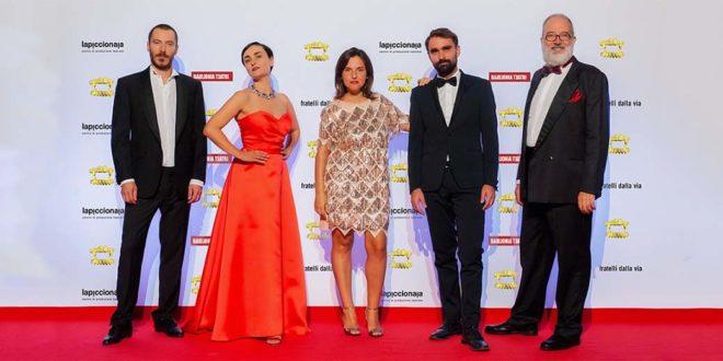 """Gli interpreti dello spettacolo """"Oro colato"""" (Foto di Eleonora Cavallo)"""