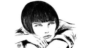 Il celebre personaggio di Valentina, di Guido Crepax