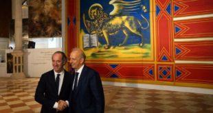 Il presidente della Regione Veneto Zaia ed il Ministro dell'Istruzione Bussetti