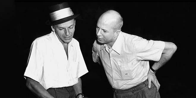 Jimmy Van Heusen con Frank Sinatra