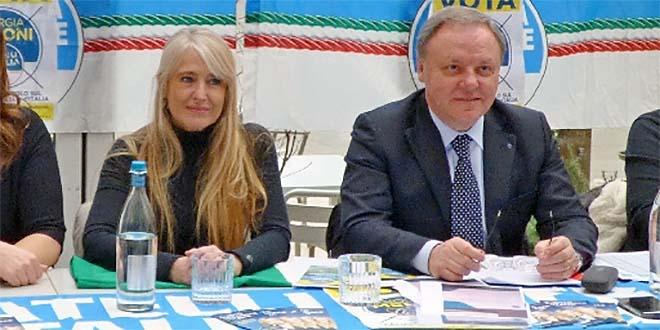 Maria Cristina Caretta e Sergio Berlato