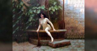 """""""La verità che esce dal pozzo"""" - Dipinto di Jean-Léon Gérôme, 1896"""