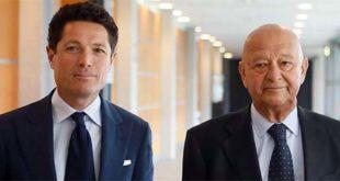 Matteo Marzotto, a sinistra,con il presidente di Ieg Lorenzo Cagnoni