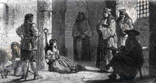 Anni oscuri, di caccia alle streghe (e alle donne), quelli del Medio Evo...