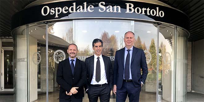 Da sinistra: Salvatore Barra, Giovanni Pavesi, Giampaolo Stopazzolo