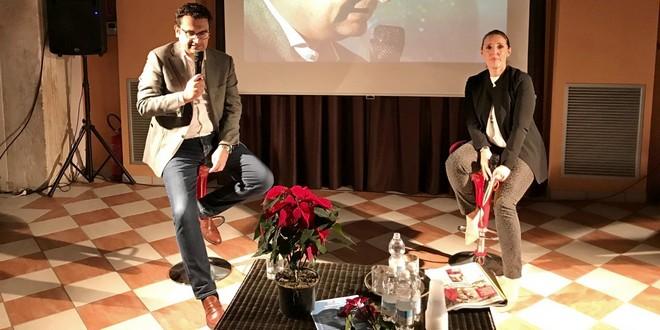 Il sindaco di Vicenza, Francesco Rucco, con l'assessore Elena Donazzan