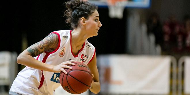 22 punti, contro Crema, per Anna Colombo, ala della VelcoFin InterLocks Vicenza