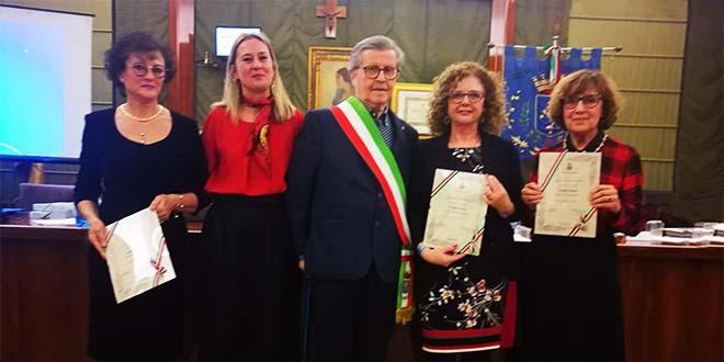 Arzignano, tre donne nominate consigliere onorario