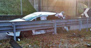 Schio, tre feriti in uno scontro fra due auto