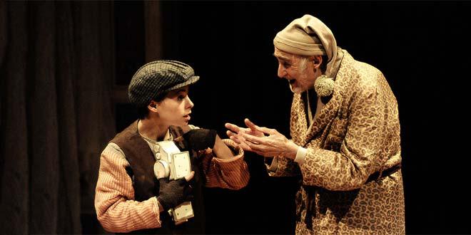 """Il """"Canto di Natale"""" della compagnia Teatris (foto di Massimo Achilli)"""