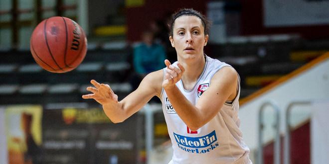 Lucia Ferri, capitana della VelcoFin InterLocks Vicenza