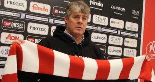 Il nuovo allenatore del LR Vicenza Michele Serena