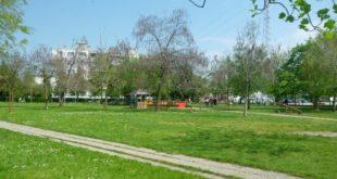 Il parco giochi di via Giuriato, a Vicenza. Foto dal sito del Comune (www.comune.vicenza.it)