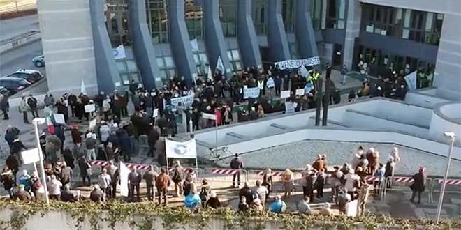 Risparmiatori truffati, oggi, davanti al Tribunale di Vicenza