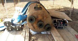 La grande bomba che fu trovata e resa inoffensiva, a Vicenza,alcuni anni fa