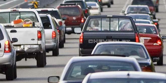 Traffico in tilt lungo la Valsugana, per un maxi tamponamento. Immagine di repertorio