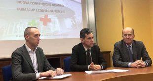 Da sinistra: Andrea Ferrarese, Giovanni Pavesi e Alberto Fontanesi