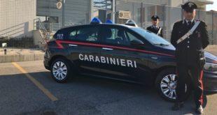 La nuova vettura assegnata ali carabinieri della Tenenza di Dueville
