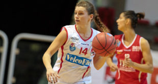 La playmaker della VelcoFin InterLocks Vicenza, Francesca Santarelli