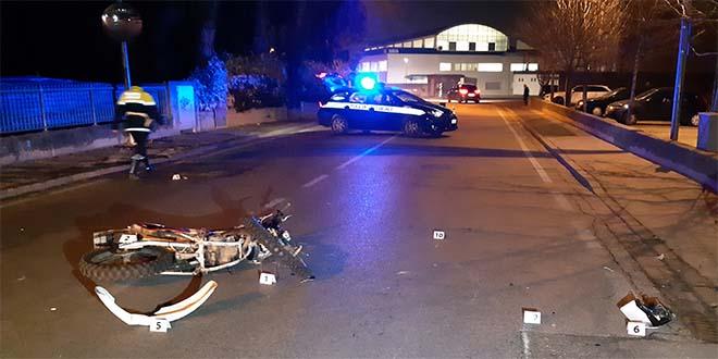 Schio, 18enne in ospedale dopo lo scontro auto-moto