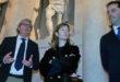 Cristiana Capotondi in visita al L.R. Vicenza e all'Olimpico