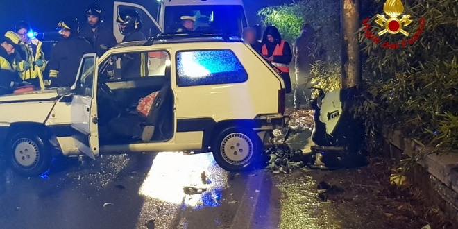 Vicenza, scontro auto-scooter. Morto un 32enne
