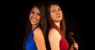 Il Duo Chromatique, ovvero Renata Benvegnù e Giulia Lucrezia Brinckmeier