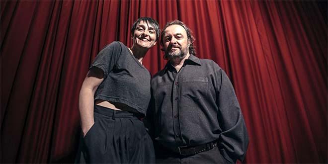 Marta Dalla Via e Natalino Balasso (Foto: Roberto Graziano Moro)