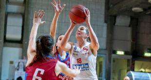 10 punti per l'ala/pivot della VelcoFin Vicenza, Eleonora Zanetti, contro Carugate