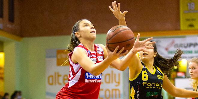 Federica Destro, play della VelcoFin InterLocks Vicenza