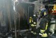 Vicenza, fiamme in una casa di viale Fusinato