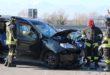 Bolzano, un ferito nel frontale tra due auto
