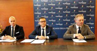 Da sinistra: Simone Manocchi, Nerio Dalla Vecchia e Agostino Bonomo
