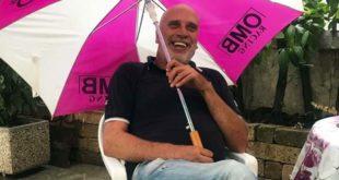 Riccardo Saugo, in una foto tratta dalla sua pagina Facebook