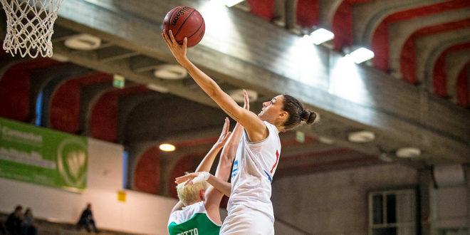 12 punti per Anna Colombo, nella sconfitta di ieri contro Bolzano