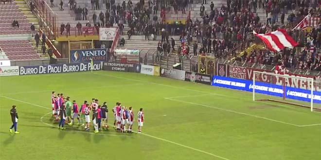 Calcio, Vicenza sconfitto al Menti dalla Triestina