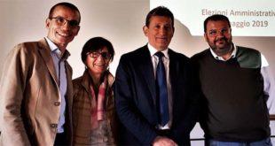 Da sinistra: Stefano Zausa, Angela Pasinato, Diego Marchioro e Maurizio Schiavo