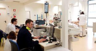 La nuova Sala osservazione per i pazienti del pronto soccorso dell'ospedale di Santorso