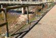 Valdagno, vandali in azione sula ciclabile Agno-Guà