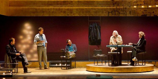 """""""Regalo di Natale"""" chiude la stagione di prosa del Teatro comunale di Thiene. Foto di Michele De Punzio"""
