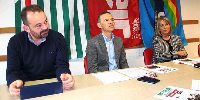 Da sinistra: Raffaele Consiglio, Giampaolo Zanni e Grazia Chisin
