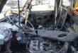 Marano, furgone va a fuoco e ne danneggia un altro