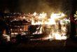 Isola, va a fuoco magazzino di mezzi agricoli