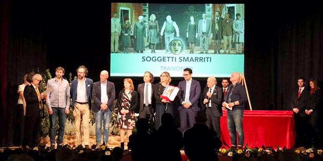 La compagnia Soggetti Smarriti di Treviso ha conquistato la Maschera d'oro
