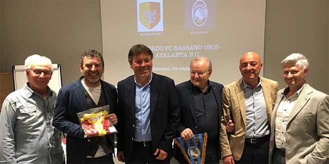 Calcio, la Fc Bassano 1903 si lega all'Atalanta
