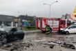Vicenza, scontro frontale tra due auto. Tre feriti