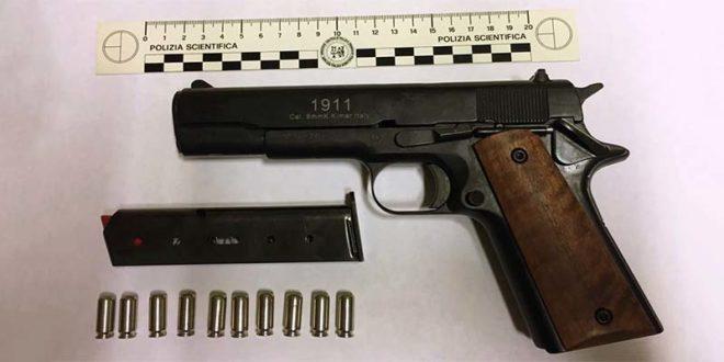 Schio, quattro giovani con pistola e droga